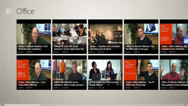 View all videos of Office Channel and its duration.