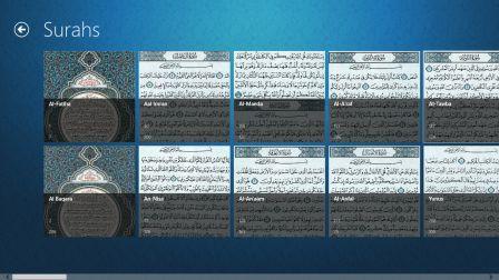 Surahs Page